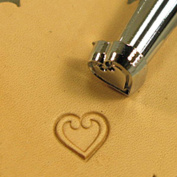 O85 Heart Leather Stamp 68085-00