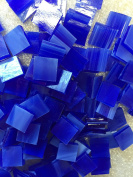 1.3cm Blue Stained Glass Mosaic Tiles