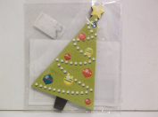 *Christmas Tree* Mini Chipboard Embellishment