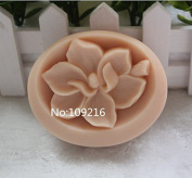 Creativemoldstore 1pcs Flower (zx1637) Craft Art Silicone Soap Mould Craft Moulds DIY Handmade Soap Mould