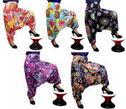 10Pcs Amazing India Rayon Ladies Floral Printed Design Baggy Gypsy Yoga Trouser Harem Pants Wholsale Lot