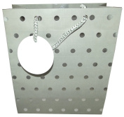 The Gift Wrap Company Silver Classic Dots Medium Gift Bag