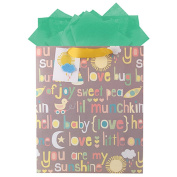 The Gift Wrap Company Hey Baby Gift Bag