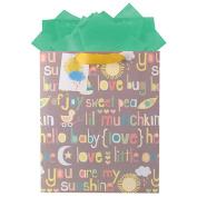 The Gift Wrap Company Hey Baby Gift Bag
