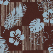 Gift Wrap - Tropics (Brown)