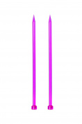 KnitPro KP51178 Trendz Single Pointed Knitting Needle/Pin 8mm x 25cm (10in) x2