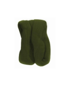 Trimits FW10.318 | Dark Green Natural Wool Roving | 10g Bag