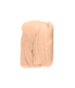 Trimits FW10.319 | Cream Beige Natural Wool Roving | 10g Bag