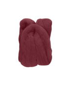 Trimits FW10.304 | Wine Natural Wool Roving | 10g Bag
