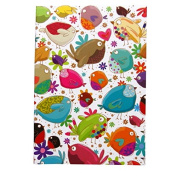 A6 Writing Doodle Book - Love Birds - 48 Pages - 6 X 4 - by Quire