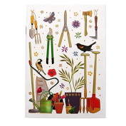 A6 Writing Doodle Book - Gardening - 48 Pages - 6 X 4 - by Quire