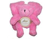 Plush Teddy Bear and Blanket Set