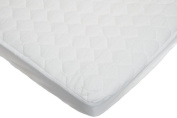 Pindaboo Quilted Fitted Waterproof Fitted Cradle Mattress Pad Cover