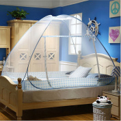 CdyBox Folding Mosquito Net Tent Canopy Curtains for Beds Home Bedroom Decor