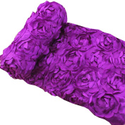 JISEN® Baby Newborn Photography Prop Blanket Purple Roses