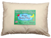 Organic Toddler Pillow 33cm x 46cm - 100% Hypoallergenic.