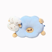 0~2 Years Old Baby Infant Nursery Pillow Cartoon Sheep Organic Cutton Sleeping Pillow For Newborn