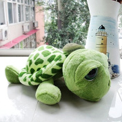 Syeer Cute Funny Tummy Tortoise Stuffed Turtle Toy Hold Pillow Big Eyes Turtle Pillow Cushions Plush Toy Doll Pillow Pet Gift for baby infant toddler preschooler Army Green 20CM 25CM 30CM 40CM