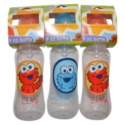 3 Sesame Beginnings Baby Bottles 270ml Elmo, Cookie Monster BPA Free