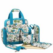 Paonies Nappy Tote Bags Baby Nappy Changing Bag Sets Large Capacity Mummy Handbag Backpack Shoulder Bag