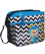 "Tender Kisses ""Monkey Zigzag"" Bottle Bag - black, one size"