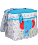 "Tender Kisses ""Elephant Triangles"" Bottle Bag - grey, one size"