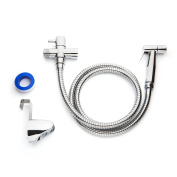Best Cloth Nappy Sprayer - Premium Stainless Steel Sprayer Set - Chrome Plated
