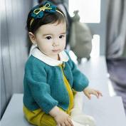 Corcrest(TM)Korean Baby girl Elastic Hair Bands Bow-knot Five-pointed Stars Cute Kids Headband Jewellery Flower Baby Infant Hair Accessiries
