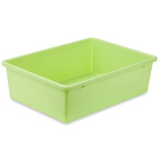 Honey-Can-Do® Large Plastic Storage Bin in Light Green