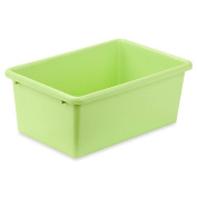 Honey-Can-Do® Small Plastic Storage Bin in Light Green