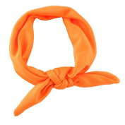 KMMall Rabbit ear Hair band Baby 8 colour optional