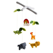 Safari Crib Mobile - Baby Toy Safari Nursery Decoration