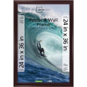 Classic Styles Mainstays Decor 24x36 Casual Poster and Picture Frame, Walnut