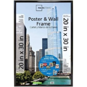 Classic Styles Mainstays Decor 20x30 Trendsetter Poster & Picture Frame, Black