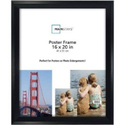 Classic Styles Mainstays Decor 16x20 Casual Poster and Picture Frame, Black