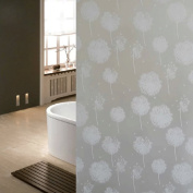 HaiSAM 2M Length Waterproof Dandelion Frosted Privacy Bedroom Window Glass Family Sticker
