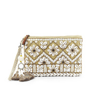 Steven By Steve Madden Fenya Shell Clutch Natrual Colour