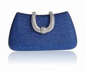 U shape Hard Shell Box Minaudiere Fashion Women's Evening Cocktail Clutch Purse