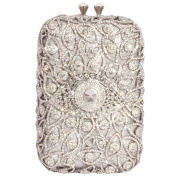 Digabi Eyes Rhinestone Purses Rectangle Shape Retro women Crystal Evening Clutch Bags