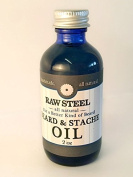 Raw Steel | Beard & Stache Oil 60ml