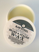 Raw Steel | Beard & Stache Wax 30ml
