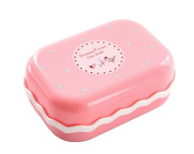 Set of 3 Soap Dishes Shower Soap Dish Soap Holders Pink