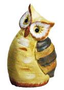 Ceramic Birch Tree Owls - Large