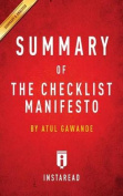 Summary of the Checklist Manifesto