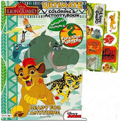 Lion Guard Colouring and Activity Book with 2 Poster, Lion Guard Stickers