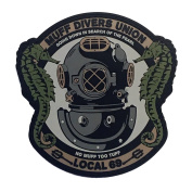 Muff Diver's Union PVC hook and loop Morale Patch