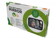 TinyFeet® Baby Car Mirror | Baby Car Mirror Rear Facing | CRASH TESTED | Lifetime 100% Satisfaction Guarantee