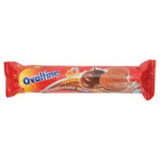 Ovaltine Cookies Sandwich Chocolate 135g. carrier to shipping international usps, ups, fedex, dhl, 14-28 Day By Dragon Shopping Thank You