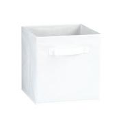 Fabric Storage Bins, White