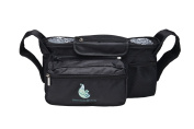 SnuggBugg Premium Universal Adjustable Stroller Organiser Travel Bag. How To Bond With Your Baby, $15 Value